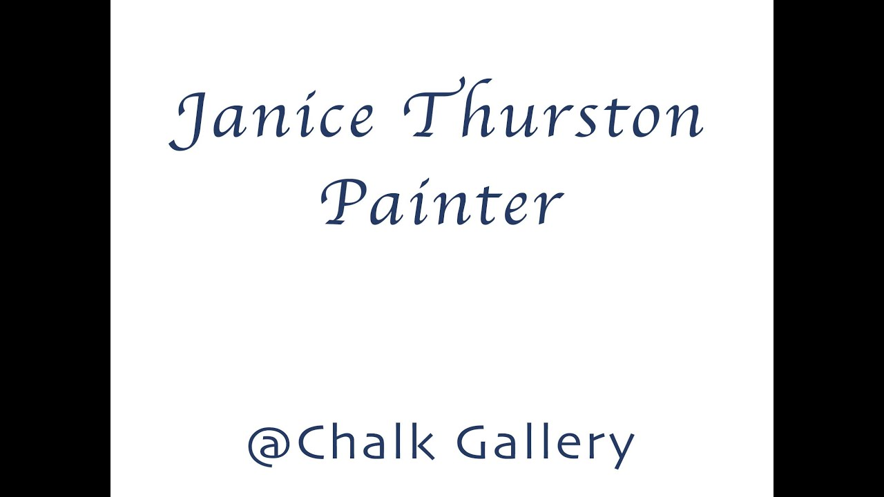 Interview with Landscape Artist Janice Thurston