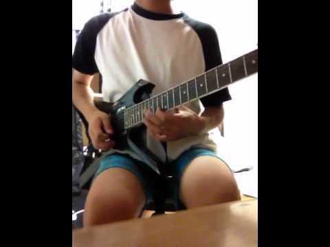 Nightmare「Lost In Blue」 Guitar Solo