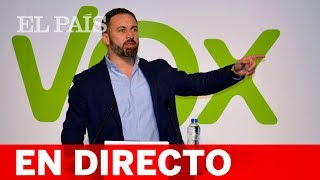 DIRECTO VOX | Acto de ABASCAL con simpatizantes en Toledo