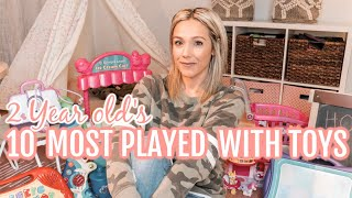 My 2 Year Old's Top 10 Most Played With Toys 2019| Tres Chic Mama