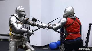 Historical Fencing Society gets to the point with medieval martial art thumbnail