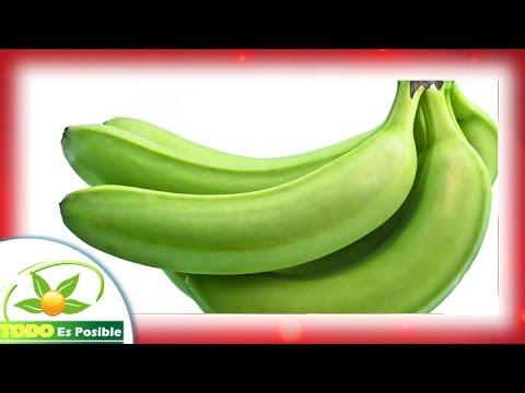 Propiedades del platano verde sancochado