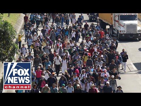 Caravan migrants file class-action lawsuit against Trump