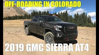 Mountain Off-Roading with 2019 GMC Sierra AT4