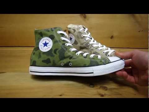 Converse All Stars Chuck Taylor High Faded Camo For Spring 2013
