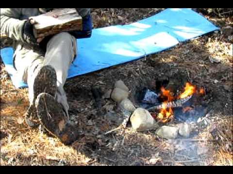 primitive burn bowl part 1--skip to 1:05