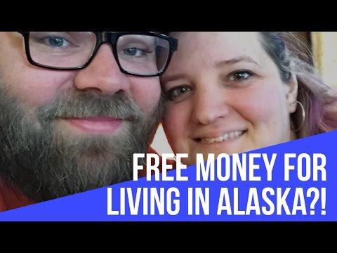FREE MONEY FOR LIVING IN ALASKA?!