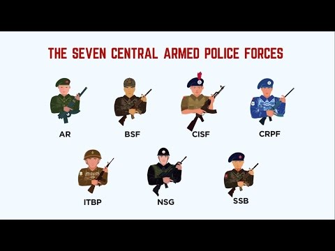 how to join paramilitary forces