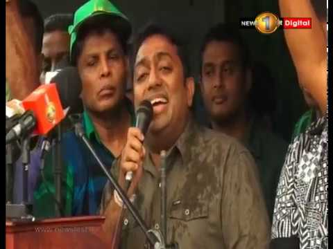 """""""We will forcefully take over the government"""" -  MP Patali Champika Ranawaka"""