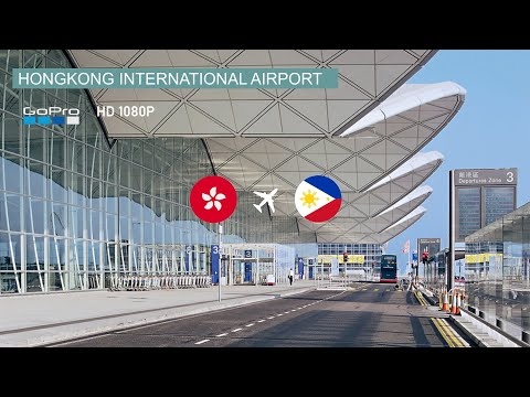 TRIP REPORT │Tour Inside Hong Kong`s International Airport │ HK ✈ MNL