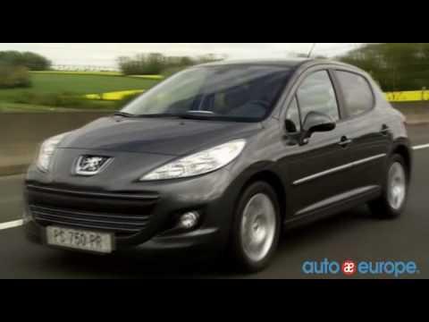Lease a Peugeot 207 through Auto Europe - YouTube