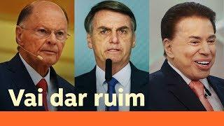 Aliança Bolsonaro Edir Macedo E Silvio Santos Vai Acabar Mal