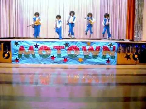 Baldwin Hills Elementary  Motown Revue I Want You Back Jackson 5