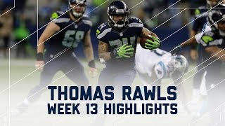 Thomas Rawls Rumbles for 106 Yards & 2 TDs | Panthers vs. Seahawks | NFL Week 13 Player Highlights