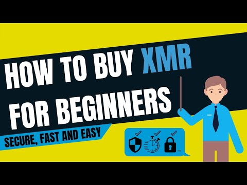 How To Buy XMR (Monero)