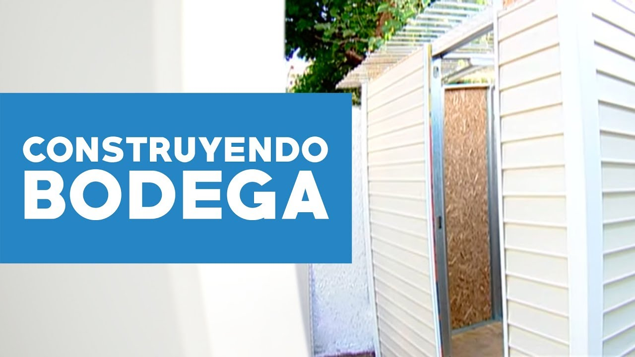 Cmo construir una bodega  YouTube