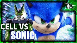 Perfect Cell Vs Movie Sonic The Hedgehog