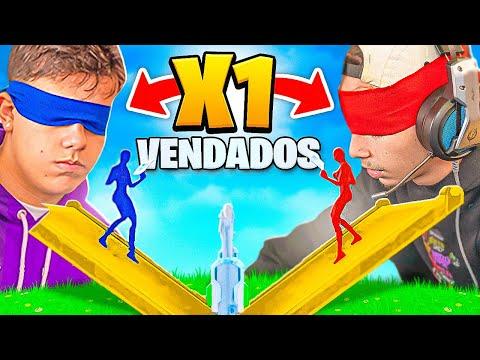 MUITO DIFÍCIL! X1 DOS PRO PLAYERS VENDADOS NA HERO BASE!
