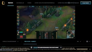 League OF Legends World Championship | Game 2