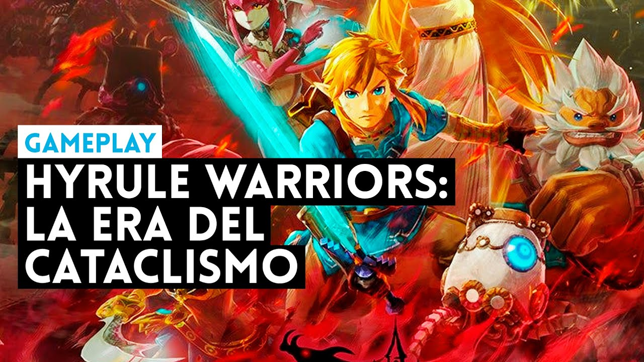 Gameplay Hyrule Warriors La Era Del Cataclismo Nintendo Switch Youtube