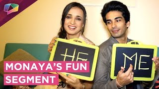 Mohit Sehgal And Sanaya Irani Play Who Is Most ...