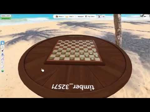 Let's Play Tabletop Simulator #25: Draughts (International Checkers)