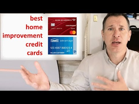 Best Home Improvement Credit Cards