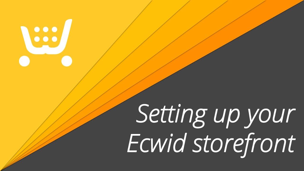 Ecwid (Premium) — Storefront — Main