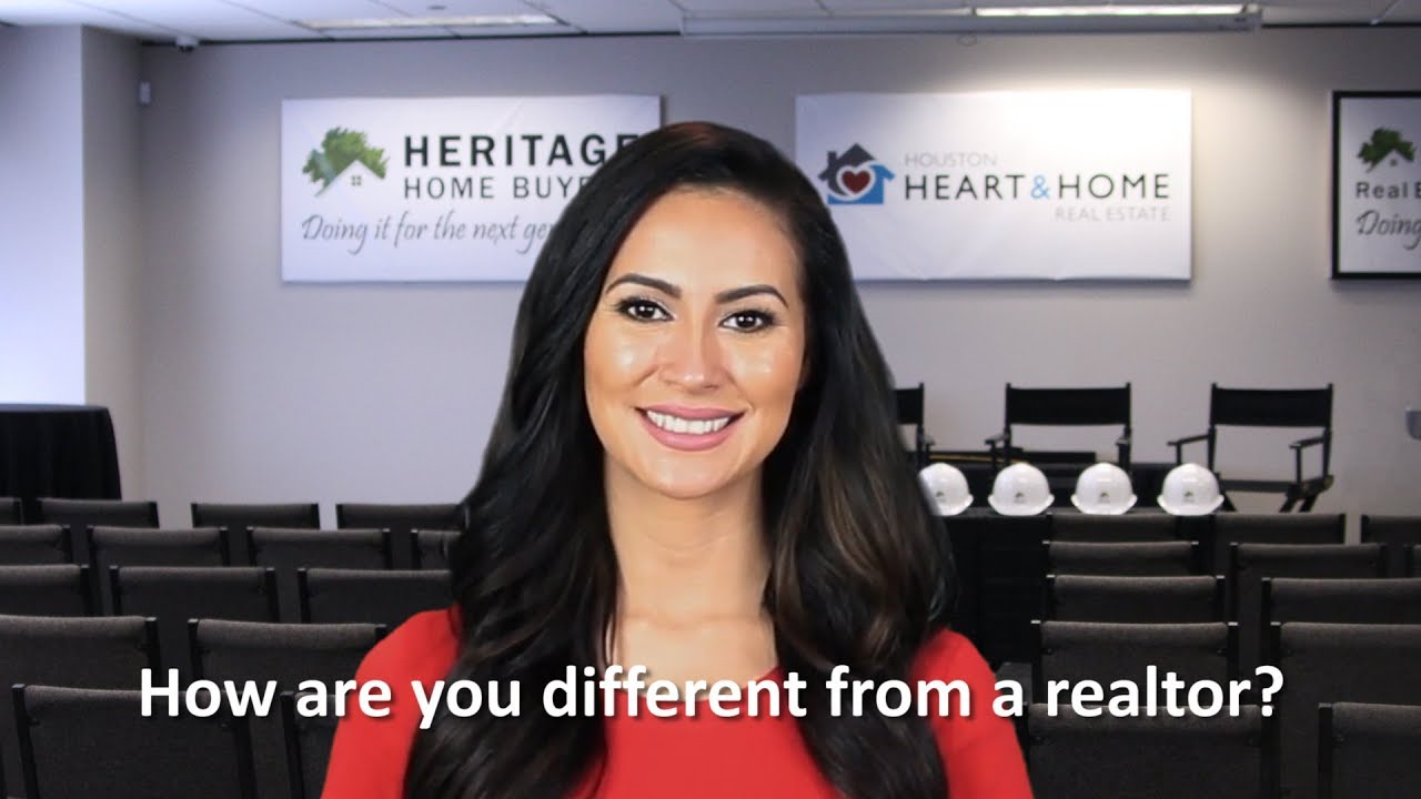 How are you different from a realtor?