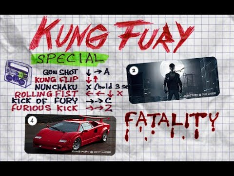 Kung Fury - Mortal Kombat Project (release)