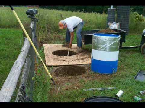 Building Barrel Root Cellars YouTube