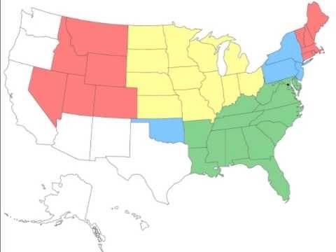 States of the USA - Singin