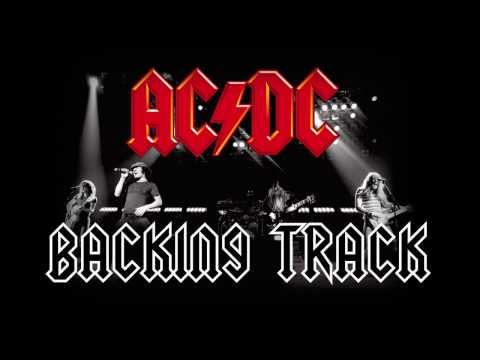 ACDC Style Backing Track  A minor 145 BPM