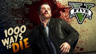 1000 MANERAS DE MORIR EN GTA V - GRAND THEFT AUTO 5