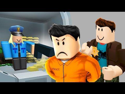 ARRESTING PRISONERS IN ROBLOX!