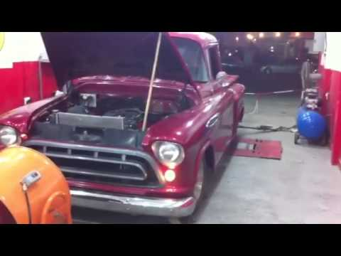 Chevy truck with Viper v10 engine