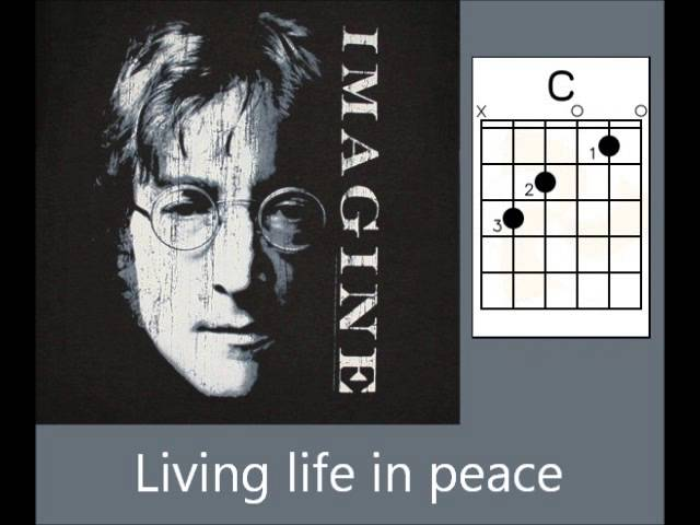 Download John Lennon Imagine Lyrics Chords Mp3 Songs Silver Plume
