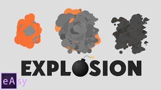 Explosion in After Effects / tutorial