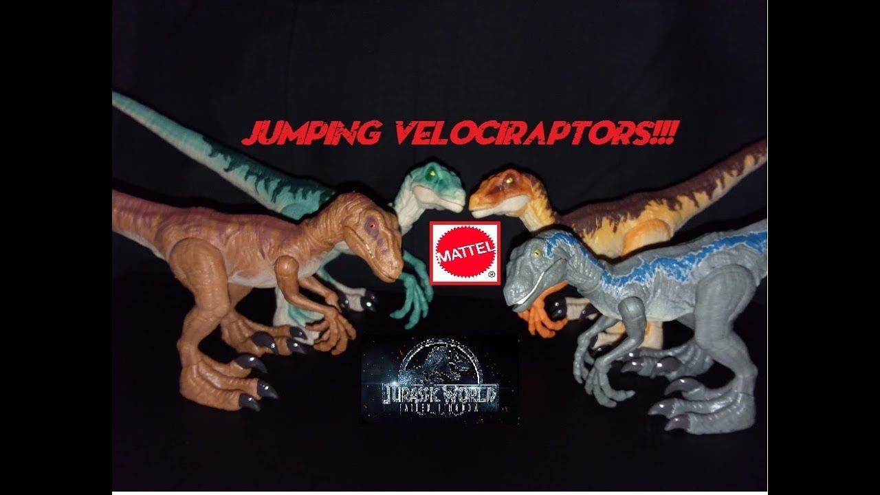 """Jurassic World Mini Action Dino VELOCIRAPTOR /""""BLUE/"""" Raptor Blind Bag New"""