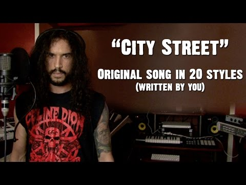 City Street - Ten Second Songs | Original Song In 20 Styles (Written By You)