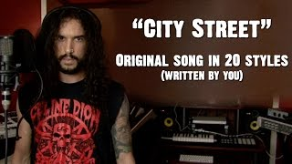 City Street - Ten Second Songs | Original Song In 20 Styles (Written By You)