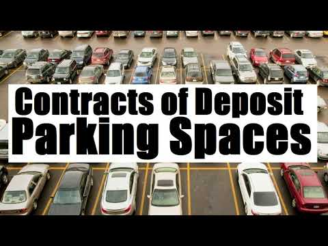 Contracts of Deposit & Parking Spaces (G.R. No. 179419; January 12, 2011)