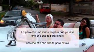 EL TAXI   CON LETRA OFFICIAL VIDEO DE  PITBUL