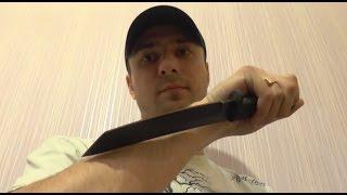 Скрытное ношение ножа Cold Steel Recon Tanto летом