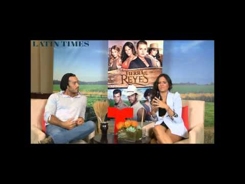 Aaron Diaz & Ana Lorena Sanchez (Tierra de Reyes) Entrevistas-Latin Times