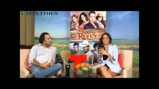 Baixar Aaron Diaz & Ana Lorena Sanchez (Tierra de Reyes) Entrevistas-Latin Times