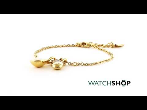 Guess Jewellery Ladies' Gold Plated Santorini Bracelet (UBB83040-L)
