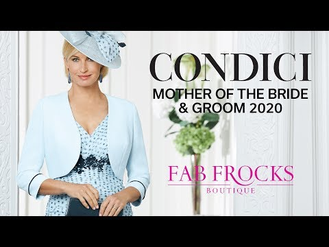 Condici Mother Of The Bride & Groom 2020 | Fab Frocks