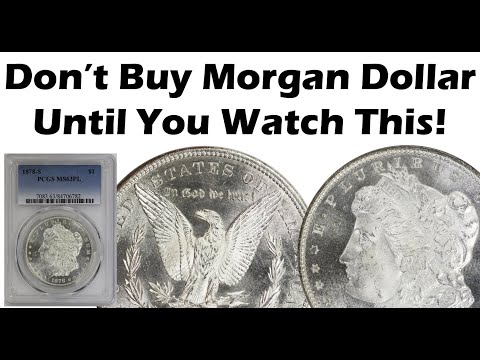 Don't Buy Another Morgan Dollar Until You Watch This! Fake Counterfeit Morgan Dollar Identification