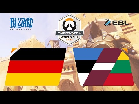 Overwatch - Germany vs. CIS and Baltic Area - Overwatch World Cup - Group A